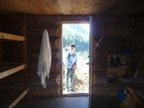 Inside the Confederation Lake Cabin