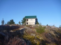 First view of Tin Hat Hut