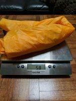 Pump sack weight (58g)