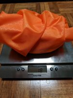 Stuff sack weight (18g)