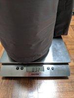 Sleeping pad weight (832g)