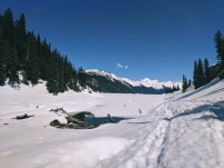 Outlet of Garibaldi Lake